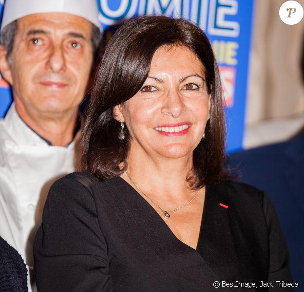 Anne Hidalgo - Conférence de presse à l'hotel de ville du lancement de la 5ème édition du salon de la gastronomie des Outre-Mer à Paris le 8 janvier 2020. © Jack Tribeca/Bestimage