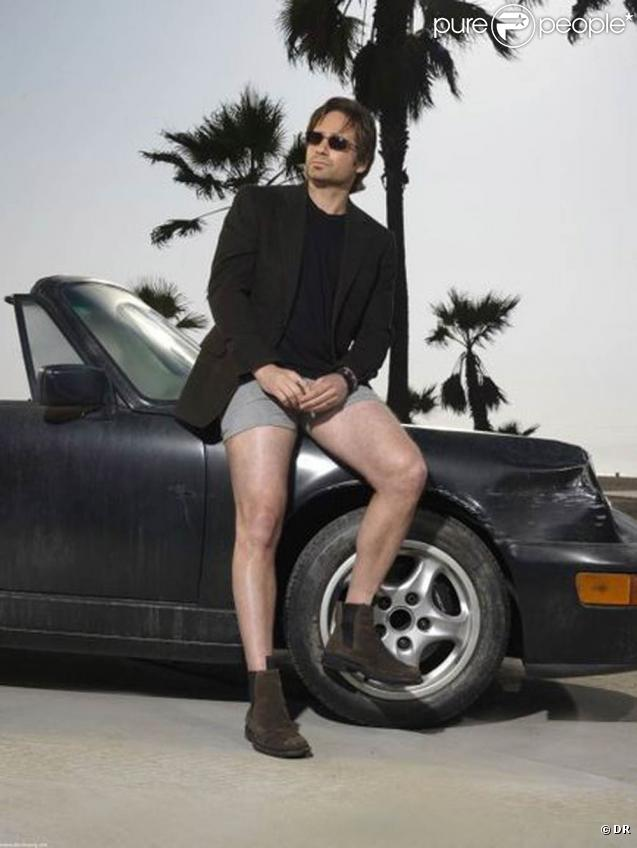 David Duchovny... sur les visuels promo de  Californication  !