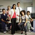 Dans la série  Hawthorne , la belle Jada Pinkett Smith est la chef des infirmières du Richmond Trinity Hospital.