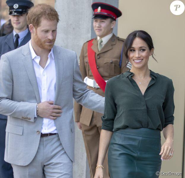 Le prince Harry, duc de Sussex, et Meghan Markle, duchesse de Sussex, inaugurent l'université technologique à Bognor Regis. C'est leur première visite dans le comté de Sussex depuis leur mariage. Le 3 octobre 2018