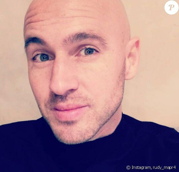 """Rudy de """"Mariés au premier regard"""" pose sur Instagram, le 13 janvier 2020"""