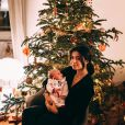 Annily, la fille aînée d'Alizée, pose avec Maggy sur Instagram, le 29 décembre 2019.