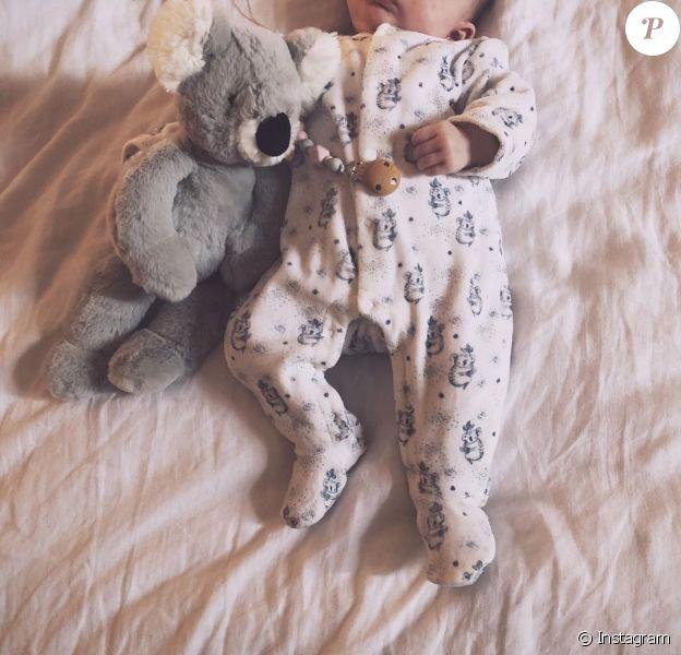 Maggy, la fille d'Alizée, le 18 janvier 2020 sur Instagram.