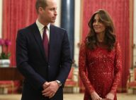 Kate Middleton en robe rouge et sequins au palais : soutien de charme de William