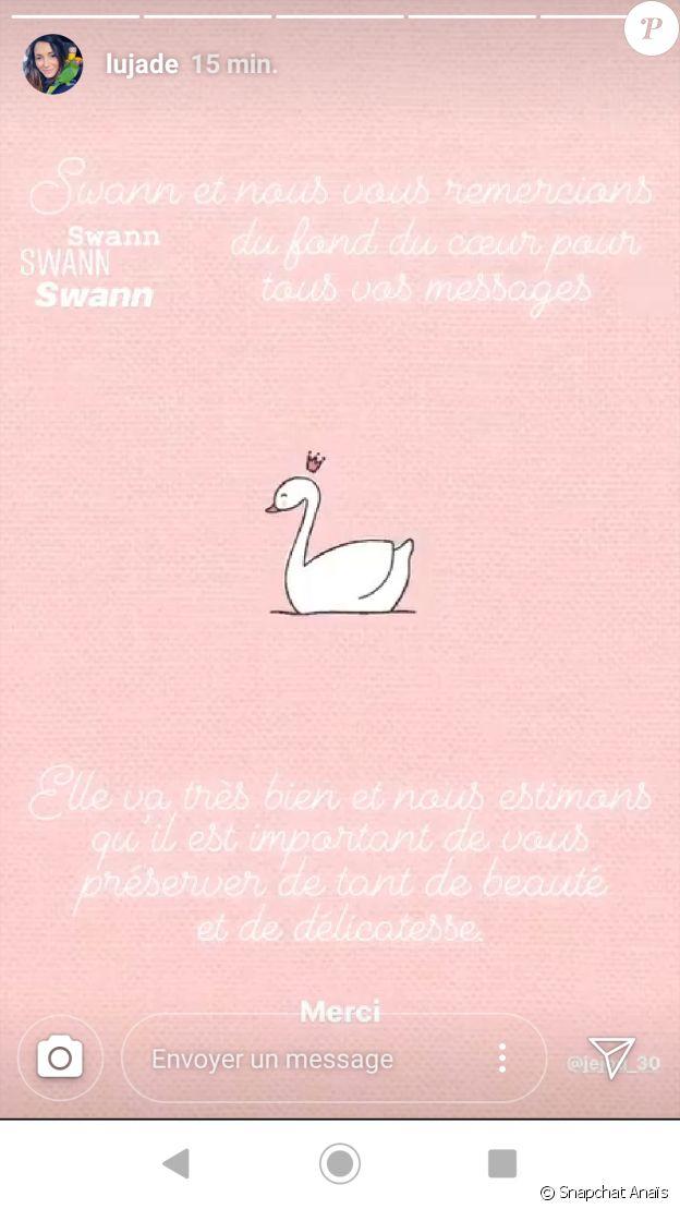 """Lucie de """"L'amour est dans le pré"""" dévoile le nom de sa fille, le 22 janvier 2020, sur Instagram"""