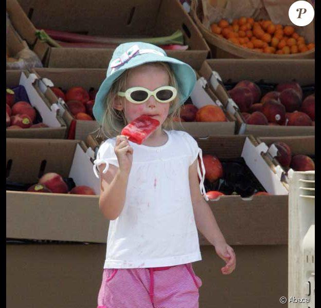 Jennifer Garner et ses filles Violet et Seraphina passent du bon temps au marché de la ferme, à Los Angeles