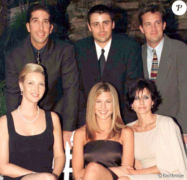 "Le casting de ""Friends"" au Friends Helping Friends Awards au Beverly Hills Hotel le 26 septembre 1997."