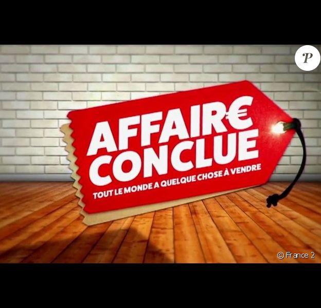 """Logo de l'émission """"Affaire conclue"""" sur France 2."""