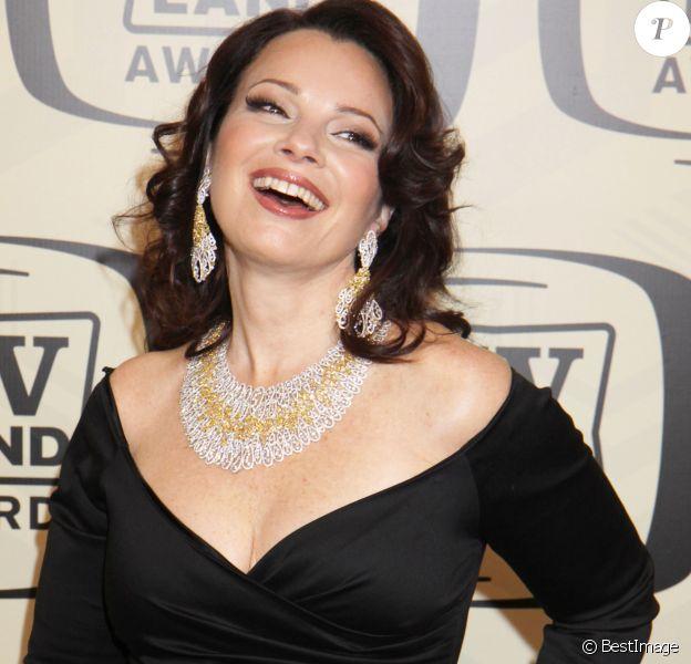 Fran Drescher le 14 avril 2012 à New York.