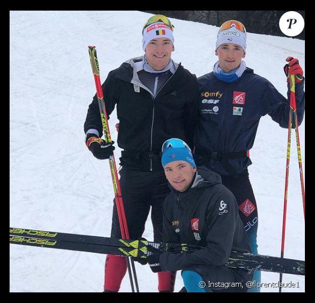 Les frères Florent, Fabien et Emilien Claude.