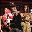 Tyler, The Creator reçoit le Grammy du meilleur album de rap lors de la 62ème soirée annuelle des Grammy Awards, au Staples Center. Los Angeles, le 26 janvier 2020.