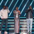 Alicia Keys, Boyz II Men lors de la 62ème édition de la soirée des Grammy Awards à Los Angeles, Californie, Etats-Unis, le 26 janvier 2020.