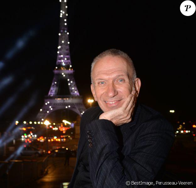 Exclusif - Jean-Paul Gaultier - Backstage du concert anniversaire des 130 ans de la Tour Eiffel à Paris. Le 2 octobre 2019. © Perusseau-Veeren/ Bestimage