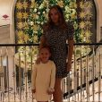 Tamara Ecclestone et sa fille Sophia. Décembre 2019.