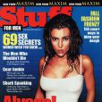 La super belle Alyssa Milano en couverture de Stuff !