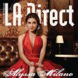 La super belle Alyssa Milano en couverture de L.A. Direct !