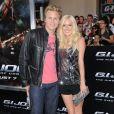 Spencer Pratt et Heidi Montag lors de la première à Los Angeles de G.I. Joe - Le réveil du Cobra le 6 août 2009