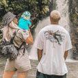 Jessica Thivenin avec son mari Thibault Garcia et leur fils Maylone en vacances à l'île Maurice - Instagram, 29 janvier 2020