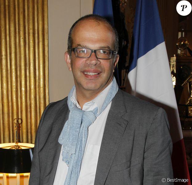 David Kessler (conseiller à la culture auprès du Président de la république) - Passation de pouvoirs au Ministère de la culture et de la communication à Paris le 17 mai 2012.