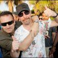Bono fête l'anniversaire de The Edge au Nikki Beach, le 8/08/09