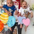 Rare photo des jumeaux d'Anna Kournikova et Enrique Iglesias sur Instagram, à l'été 2018.