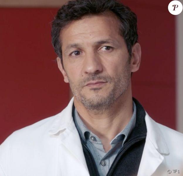 """Kamel Belghazi dans la série """"Demain nous appartient"""", diffusée sur TF1."""