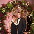 Jean-Luc Reichmann et sa femme Nathalie - Gala du 75ème Grand Prix de Monaco le 28 mai 2017. © Claudia Albuquerque/Bestimage