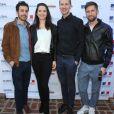"""L'equipe du film """"Nefta football club"""" assiste à la cérémonie des World Cinema Awards à la Résidence du Consul de France à Beverly Hills, le 10 février 2020."""