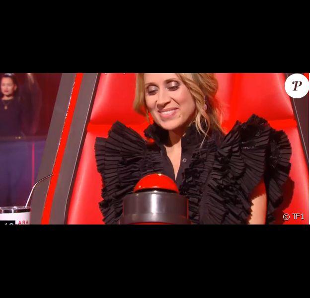 """Nessa - Talent de """"The Voice 9"""" lors des auditions à l'aveugle de samedi 22 février 2020, TF1"""