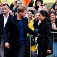 Le prince Harry et sa fiancée Meghan Markle visitent le château de Cardiff, Royaume Uni, le 18 janvier 2018.