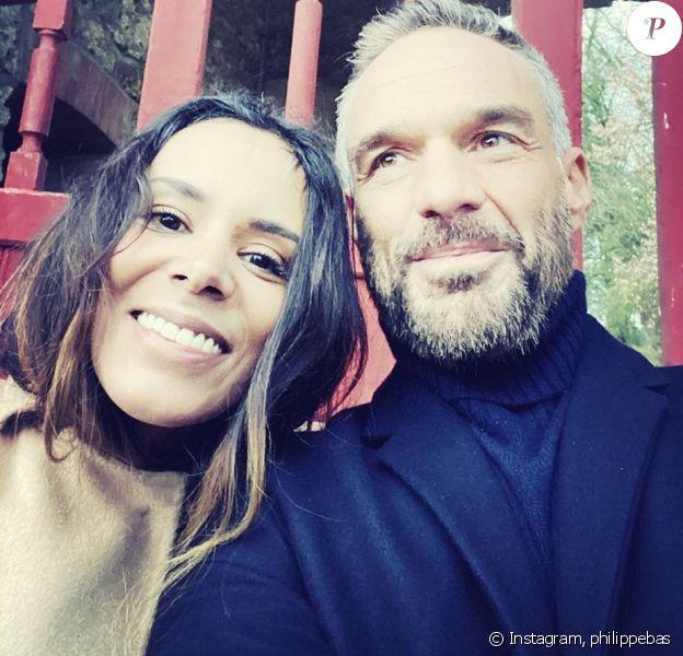 """Philippe Bas et Shy'm sur le tournage de """"Profilage"""", le 9 janvier 2020"""