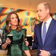 Le prince William, duc de Cambridge, et Catherine (Kate) Middleton, duchesse de Cambridge assistent à une réception organisée par l'ambassadeur britannique au Gravity Bar, Guinness Storehouse à Dublin, Irlande, le 3 mars 2020, pour une visite officielle de 3 jours.