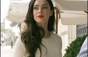 Megan Fox au petit matin... Ben, c'est toujours une bombe !