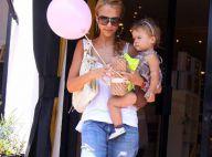 Jessica Alba : son adorable Honor, 1 an, a déjà le sens du style et aime... faire du shopping !