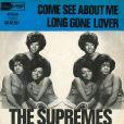 Pochette d'un disque de The Supremes en 1961.
