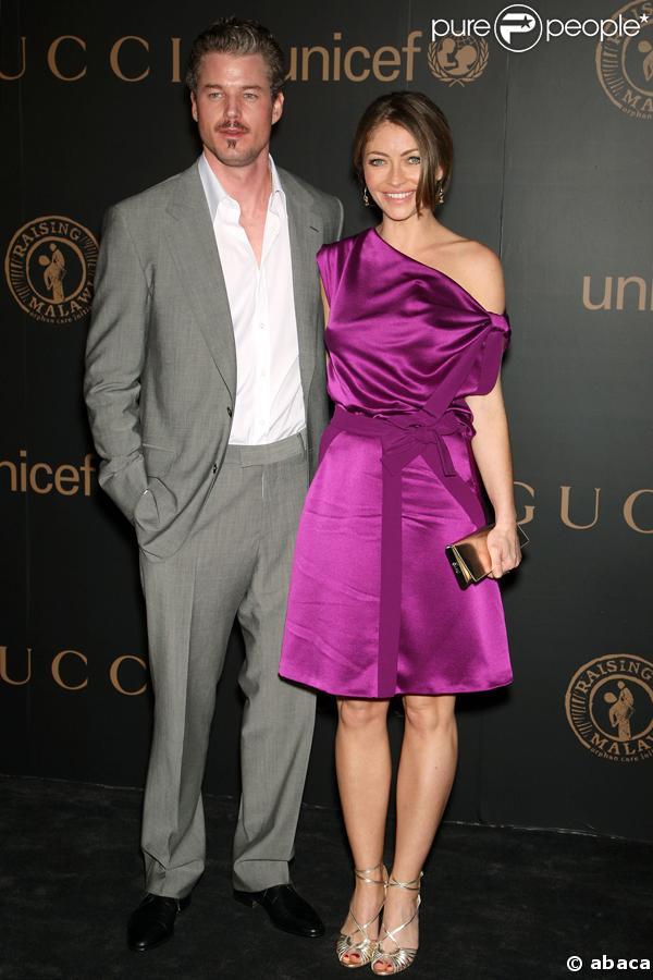 Eric Dane et Rebecca Gayheart à la soirée Gucci organisée au profit ...