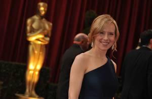 A 39 ans, Amy Ryan, star de The Office, attend son premier enfant !
