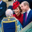 Kate Middleton, duchesse de Cambridge - La famille royale d'Angleterre lors de la cérémonie du Commonwealth en l'abbaye de Westminster à Londres, le 9 mars 2020.