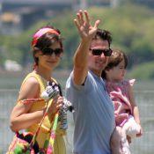 Tom Cruise, Katie Holmes et Suri : le trio est au comble d'un bonheur... trop parfait ?