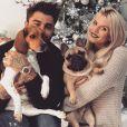Jessica Thivenin et Thibault Garcia en compagnie de leurs deux chiens - Instagram, 18 décembre 2019
