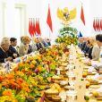 Le roi Willem-Alexander des Pays-Bas et la reine Maxima des Pays-Bas, Joko Widodo Président de la République d'Indonésie et sa femme Iriana - Visite d'État en Indonésie - Jour 2 - Jakarta, le 10 mars 2020. Official State visit in Indonesia, day 2, March 10th 2020.10/03/2020 - Jakarta