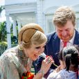 Le roi Willem-Alexander et la reine Maxima des Pays-Bas ont été accueillis par le président Joao Widodo et sa femme Iriana au palais présidentiel de Jakarta, à l'occasion d'un voyage officiel en Indonésie. Le 10 mars 2020  King Willem-Alexander and Queen Maxima of The Netherlands are welcomed by President Jcand his wife Iriana Widodo with an official welcome ceremony at the Presidential Palace in Jakarta, Indonesia, 10 March 2020. The Dutch King and Queen are in Indonesia for their 4 day State Visit.10/03/2020 - Jakarta