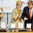Le roi Willem-Alexander et la reine Maxima des Pays-Bas visitent l'usine de chocolat Pipiltin à Jakarta, à l'occasion d'un voyage officiel de 4 jours en Indonésie. Le 10 mars 2020  King Willem-Alexander and Queen Maxima of The Netherlands visit Pipiltin chocolate factory in Jakarta, Indonesia, 10 March 2020. The Dutch King and Queen are in Indonesia for their 4 day State Visit.10/03/2020 - Jakarta