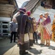 Le roi Willem-Alexander et la reine Maxima des Pays-Bas visitent Batak dans le hameau de Siambat Dalan, village de Lintong Nihuta, lors de leur voyage officiel en Indonésie, le 12 mars 2020.  King Willem-Alexander and Queen Maxima of The Netherlands arrive at the airport Silangit in Sumatra, Indonesia, 12 March 2020. The Dutch King and Queen are in Indonesia for their 3 day State Visit.12/03/2020 - Tobalake