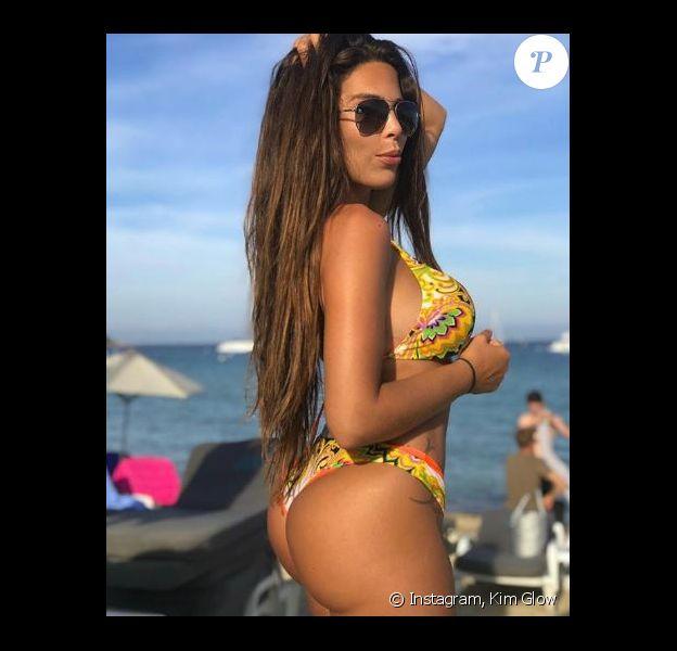 Kim Glow en vacances à Saint-Tropez -Instagram, 2 juin 2018