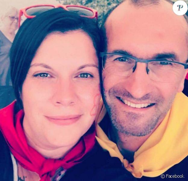 """Jo, candidat de """"L'amour est dans le pré"""" en 2012 est en couple avec Claire. La jeune femme est hospitalisée. Janvier 2020."""
