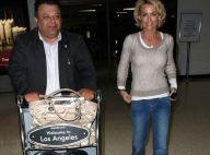 Kelly Carlson : La bombe de Nip/Tuck très souriante... aux côtés d'un bel inconnu !