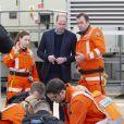 Le prince William célébrait le 9 janvier 2019 à l'Hôpital royal de Londres les 30 ans de l'association London Air Ambulance.