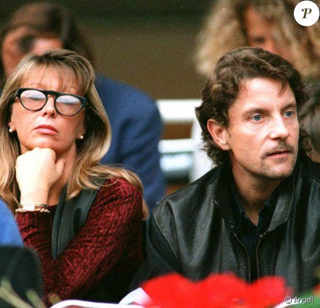 Francis Cabrel et Mariette, en 1994