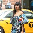 Jameela Jamil à la sortie des studios AOL Build à New York, le 26 septembre 2019.